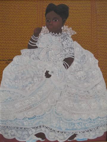 Ivan Moraes, Portrait of a Girl, 1967