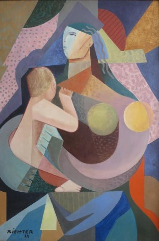 Hans Richter, Mother & Child