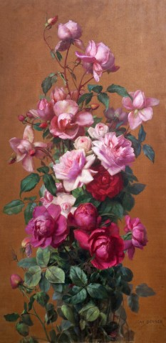 Jean Benner, Studfy of Flowers