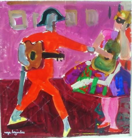 Roger Bezombes, Comedia Dell'Arte, 1956