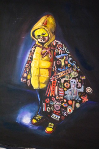 Yassine Balbzioui  Yellow Boy, 2018
