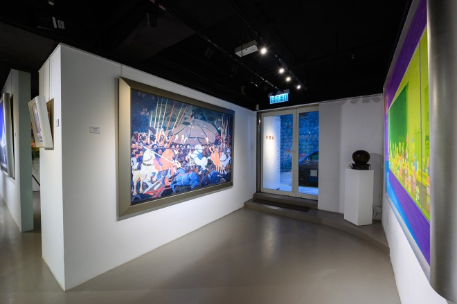 Beyond Description, Beyond Boundary • Paintings of Zhang Gong
