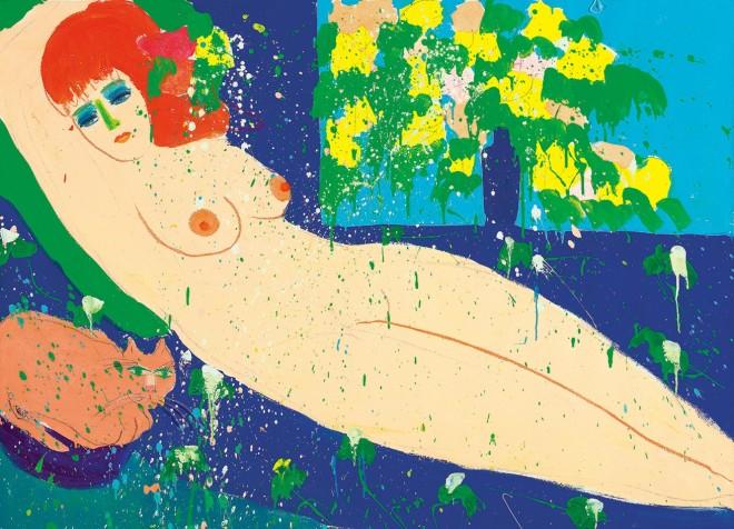 Walasse Ting, Eat Me, I'm A Fish, 1978