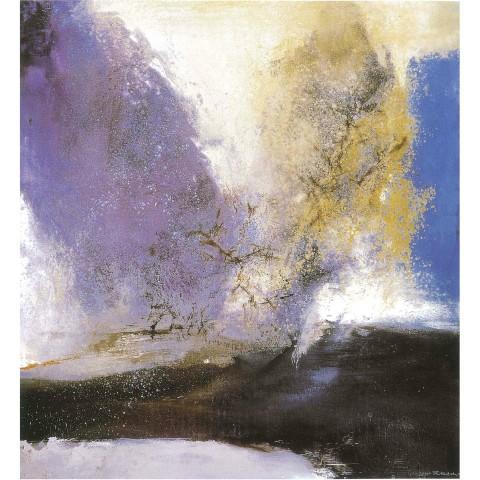 Zao Wou-Ki, 15.2.93, 1993