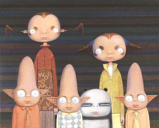 Zhang Gong, The Family of Miss Panda, 2011
