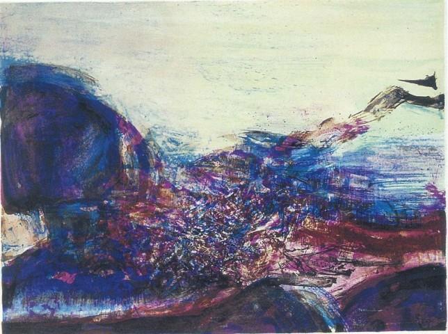 Zao Wou-Ki, Untitled, 1978