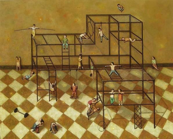 Liu Hong Wei, Checker Series - Fun!, 2006