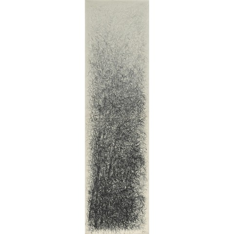 Fang Shao Hua, Unorthodox Portrait of Bamboo - Roaring Across Sky, 2012