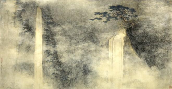 Li Huayi, Waterfall, 2004