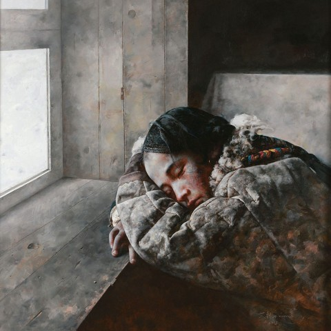 Ai Xuan, Snow Falls on the Edge of Dream, 2009