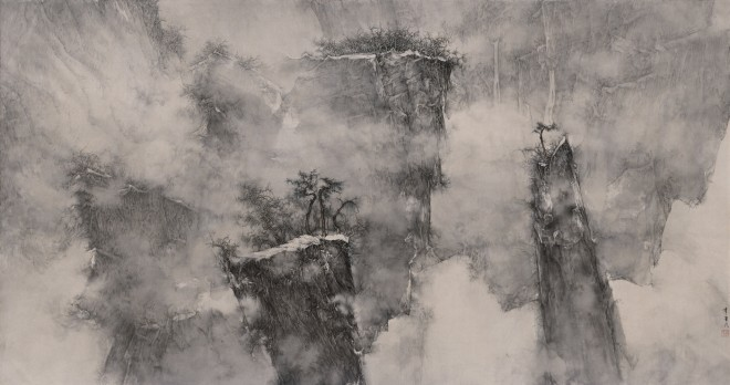Li Huayi, In the Density of Mist, 2018