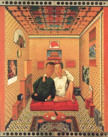 Zhang Gong, Family Scene, 1992