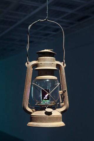 TV in a Lamp