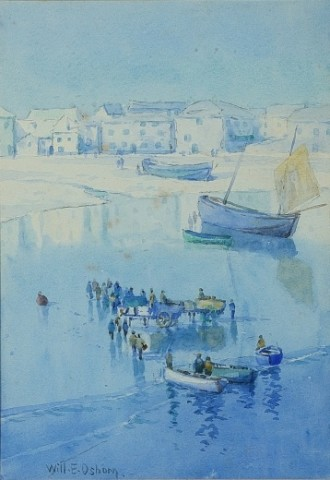 UNLOADING THE CATCH, ST IVES