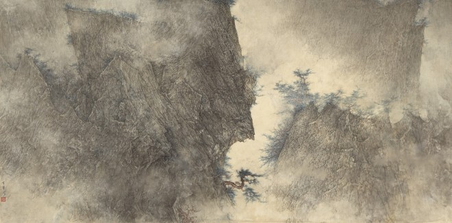 Li Huayi, Greenish Ridges, 2016