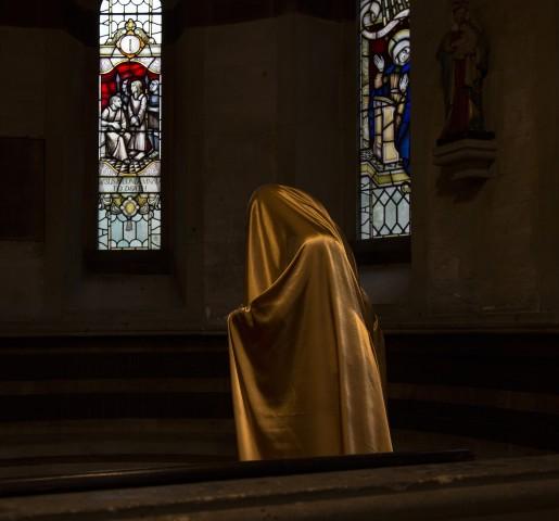 Woman in the Chapel II