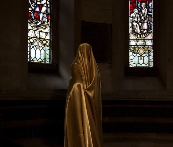 Woman in the Chapel III