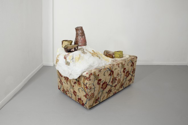 Jessica Jackson Hutchins, Loveseat and Bowls, 2008