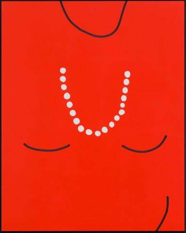 Cornelia Baltes, Untitled (lady red), 2015