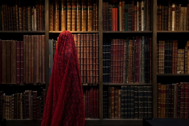 Güler Ates, She and the Books, 2012