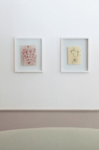 Annabel Emson, Flower Cycle (left) and Open Space (right), 2012