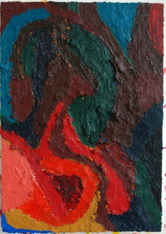 Ralph Hunter-Menzies, Abstract Composition V, 2012