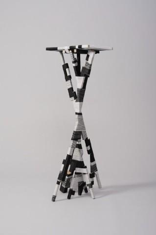 Anton Alvarez, The Thread Wrapping Machine High Side Table 281013, 2014