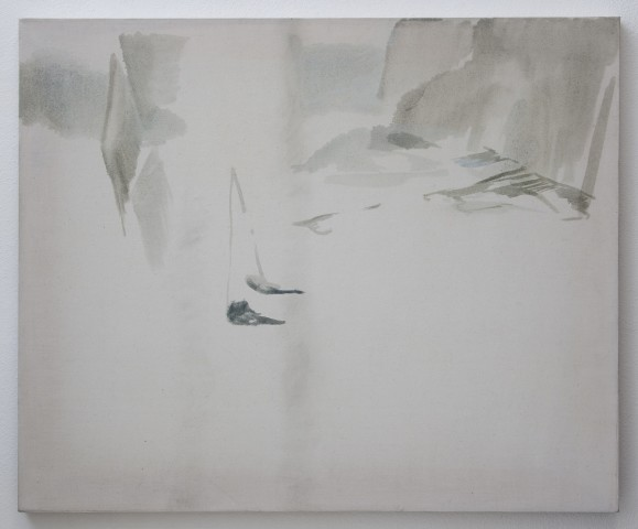 Wendy McLean, Grey wall, 2011