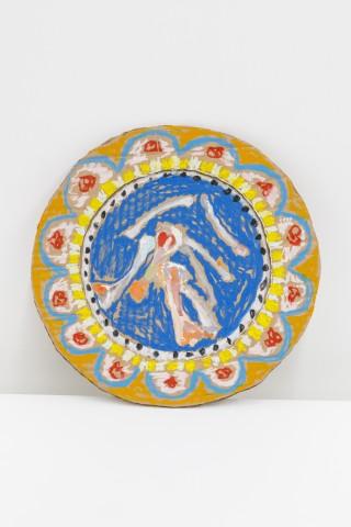 Lindsey Mendick, Little Chicken Bone Plate, 2018