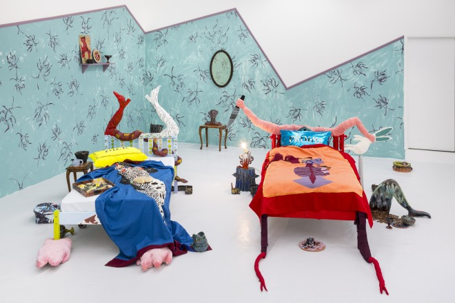 Lindsey Mendick, Our Bed (Double Trouble), 2018