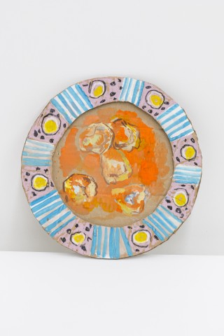 Lindsey Mendick, Sad Orange Pasta, 2018
