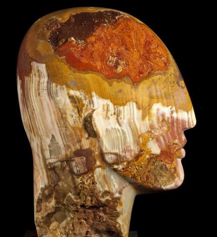 Emily Young, Arco Iris Head, 2010