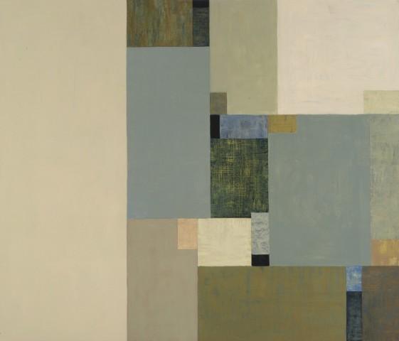 Tamar Zinn  Broadway 103, 2012  oil on panel  28 x 33 in