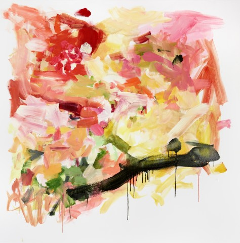 Yolanda Sanchez  After Love, 2013  oil on canvas  48 x 48 in