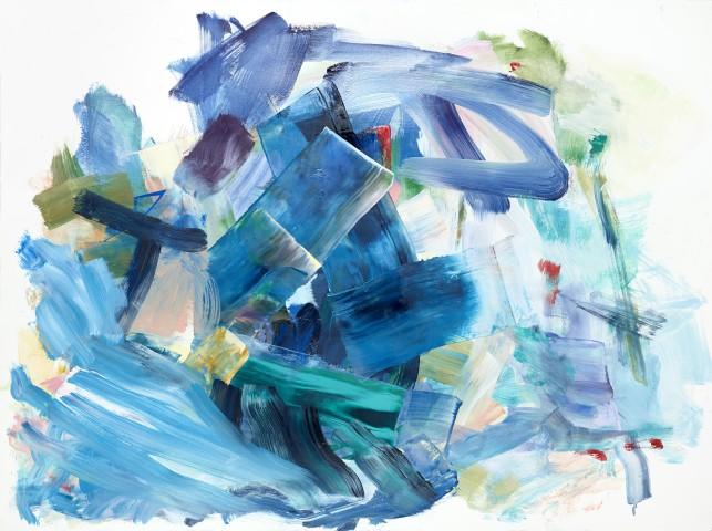 Yolanda Sanchez  On the Inner Plane #3, 2013  oil on canvas  22 x 30 in