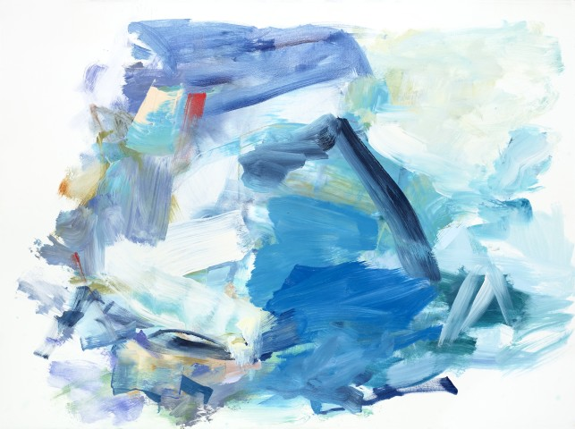Yolanda Sanchez  On the Inner Plane #4, 2013  oil on canvas  22 x 30 in