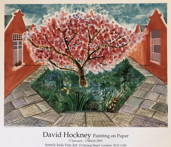 David Hockney, 'Cherry Blossom', 2003