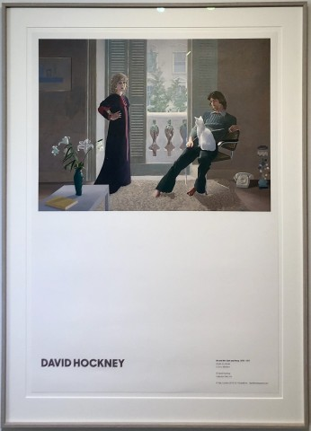 David Hockney, Mr and Mrs Clark and Percy, 1970-71, 2019