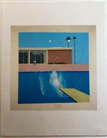 David Hockney, David Hockney 'A Bigger Splash' Tate Portfolio Edition, 2017