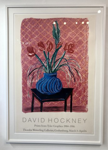 David Hockney 'Amaryllis in Vase'