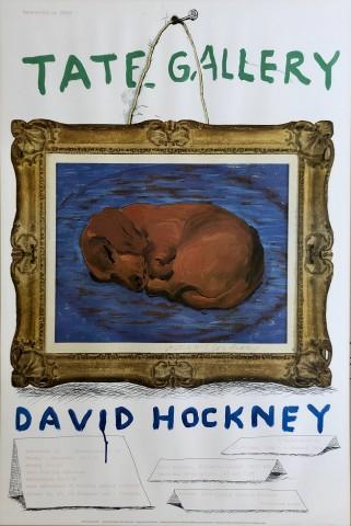 David Hockney, David Hockney : A Retrospective Hand Signed Edition of 250, 1987