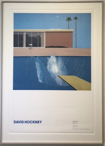 David Hockney, A Bigger Splash, 2019
