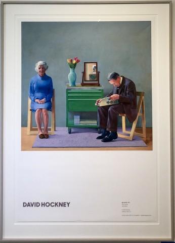 David Hockney, My Parents, 1977, 2019