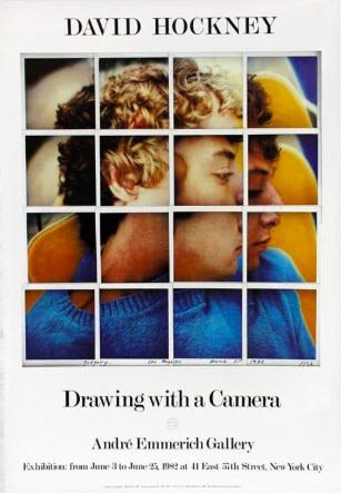 David Hockney, David Hockney Original Poster 'Drawing with a Camera', 1982