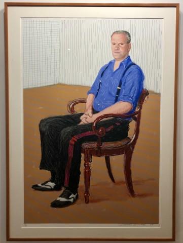 David Hockney, A Bigger John Fitz-Herbert Monday 24th November 2008, 2008