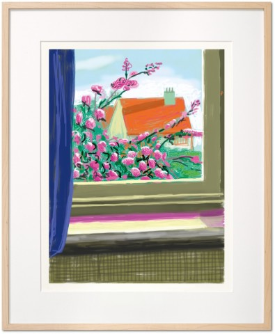 David Hockney, David Hockney. My Window. Art Edition (No. 751–1,000) 'No. 778', 17th April 2011, 2019