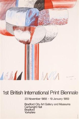 David Hockney Original Poster  British International Print Biennale