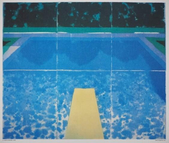 'Piscine Avec Les Trois Bleus'
