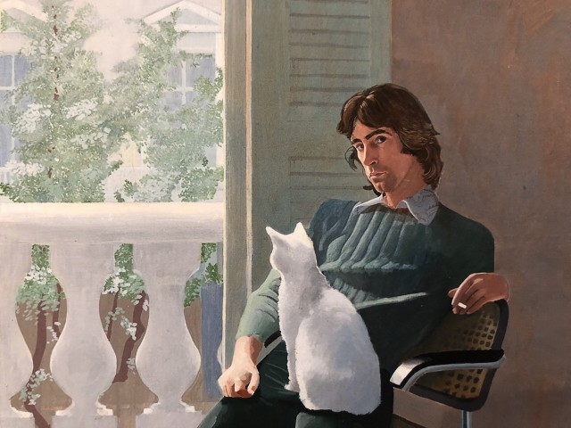 David Hockney, 'Mr and Mrs Clark and Percy' 1970-71, 2019