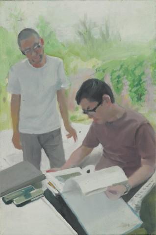 Two Artists 两个艺术家, 2008